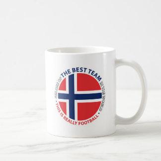 Norge Norway Art Shield Coffee Mug