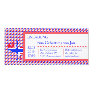 Norge Norway invitation