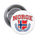 Norge Pinback Button
