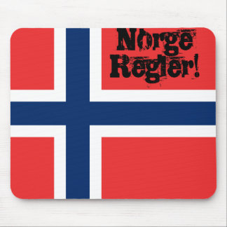 Norge Regler (Norway rules) Mouse Pad