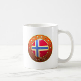 Norge shield coffee mug