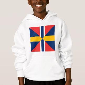 Norge Sverige Sildesalaten, Norway Hoodie