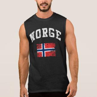 Norge Sleeveless T-shirts
