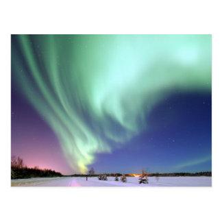 Norhtern enciende Alaska Postales