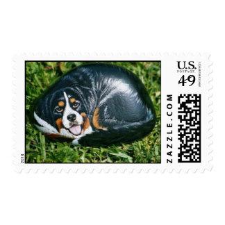 """""""Nori"""" dog rock stamp"""