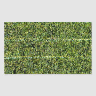 Nori - Dried Seaweed For Sushi Rectangular Sticker