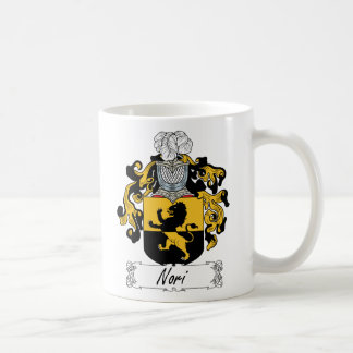 Nori Family Crest Classic White Coffee Mug