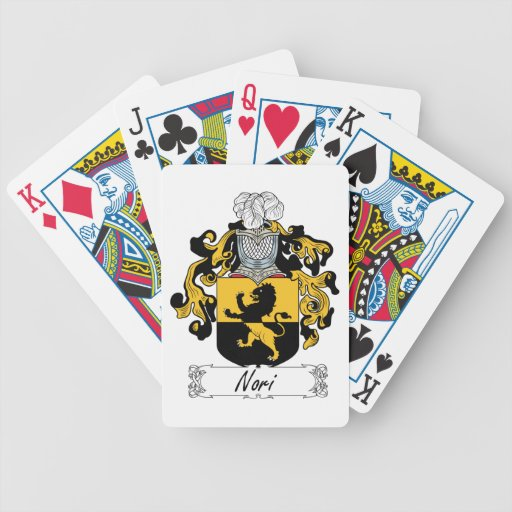 Nori Family Crest Card Deck