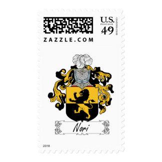 Nori Family Crest Postage Stamp