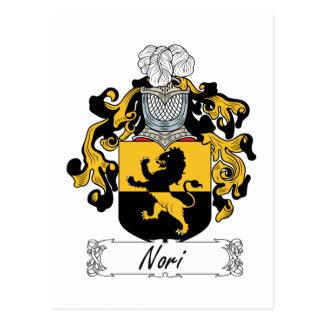 Nori Family Crest Postcard
