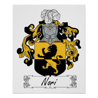 Nori Family Crest Print