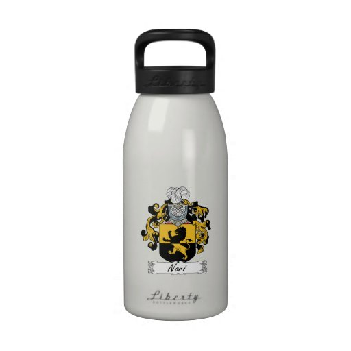 Nori Family Crest Water Bottles