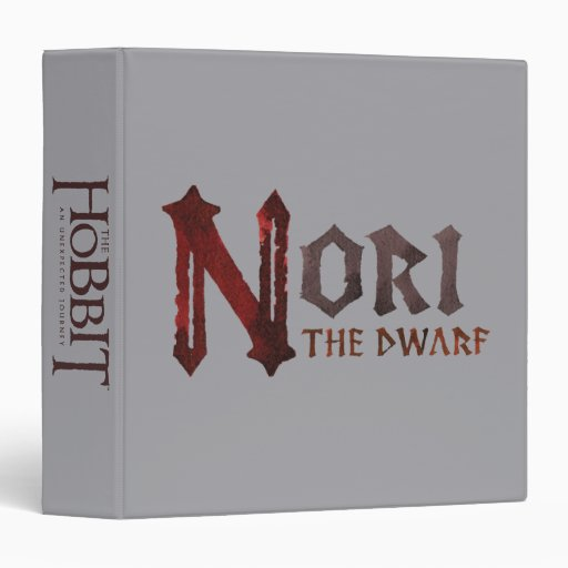 Nori Name Vinyl Binders