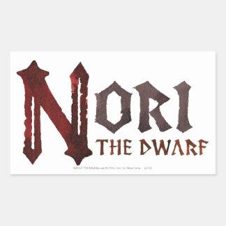 Nori Name Rectangular Sticker