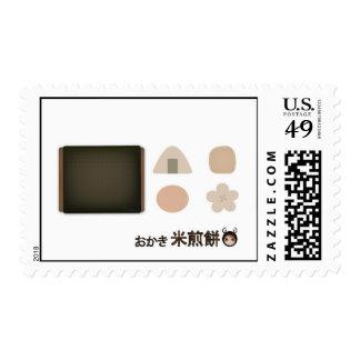 Nori Sembei Japanese Rice Snack Stamp