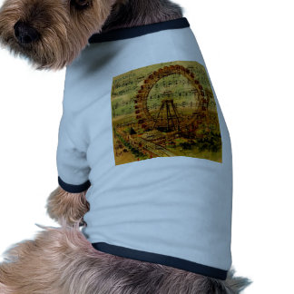 Noria de París Camisetas De Perro
