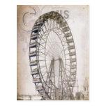 Noria del circo tarjetas postales