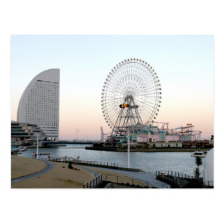 Noria en Yokohama Japón Postal