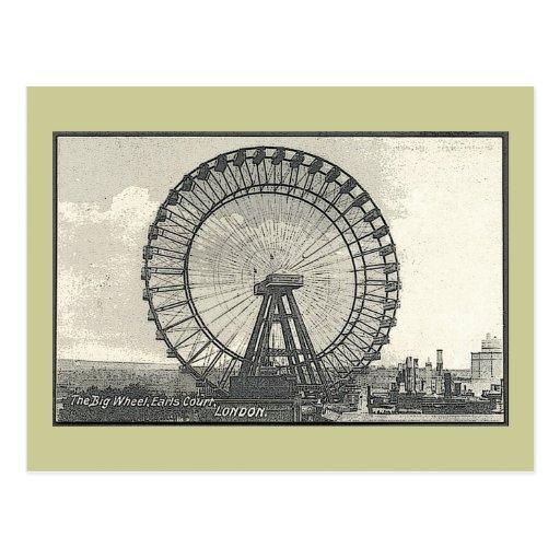 Noria gigante LONDRES Tarjetas Postales
