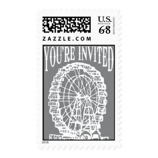 Noria - usted es franqueo invitado sellos postales