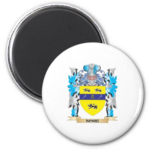 Norie Coat of Arms - Family Crest Magnet