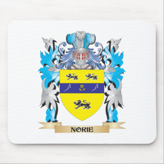 Norie Coat of Arms - Family Crest Mouse Pad