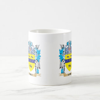 Norie Coat of Arms - Family Crest Classic White Coffee Mug