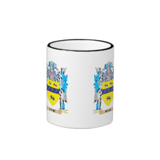 Norie Coat of Arms - Family Crest Ringer Coffee Mug