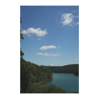 Noris Lake, Tennessee Stretched Canvas Print