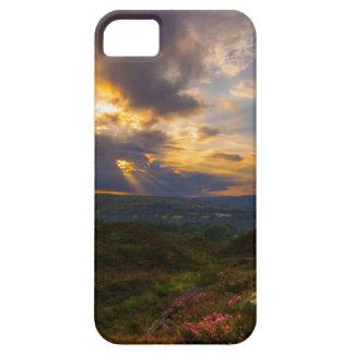 Norland amarra puesta del sol iPhone 5 funda