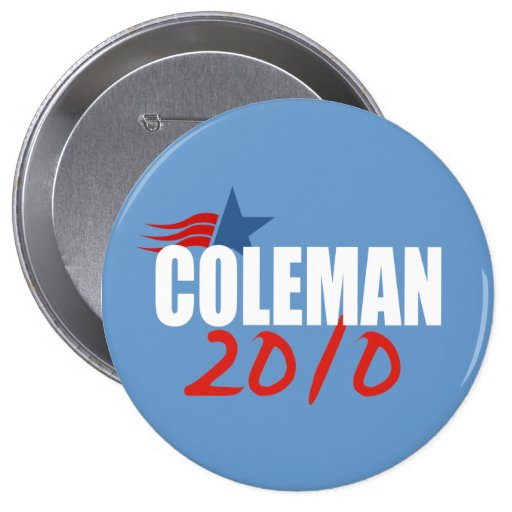 NORM COLEMAN Election Gear Pin