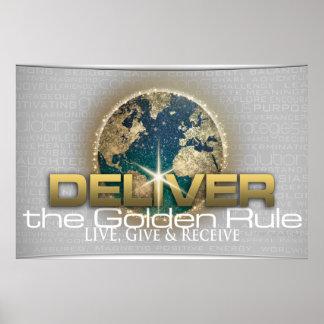 Norma de oro póster