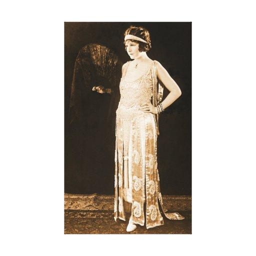 Norma modelo Talmadge 1920 Impresiones En Lona