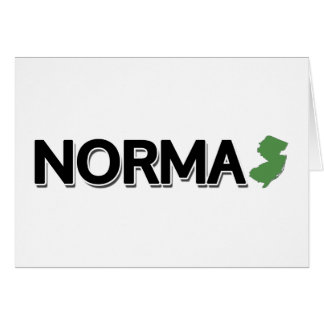 Norma, New Jersey Greeting Card