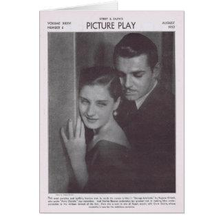 Norma Shearer 1932 Greeting Card