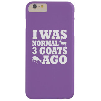 Normal 3 Goats Ago Barely There iPhone 6 Plus Case