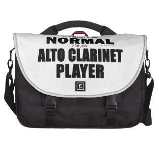 Normal Alto Clarinet Player Bag For Laptop