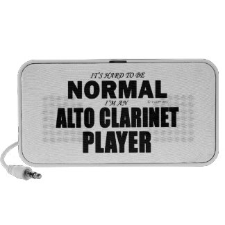 Normal Alto Clarinet Player PC Speakers