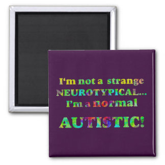 Normal Autistic Magnets