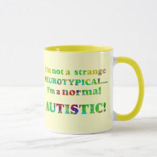 Normal Autistic Mugs