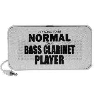 Normal Bass Clarinet Player Laptop Speakers