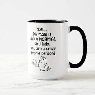 Normal Bird Lady Mug