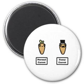 Normal Carrot, Fancy Carrot Magnet