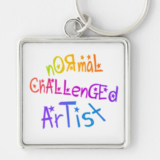 NORMAL CHALLENGED ARTIST KEYCHAIN