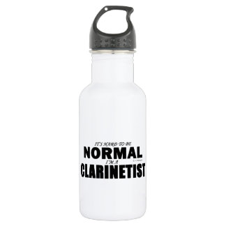 Normal Clarinetist Stainless Steel Water Bottle