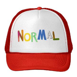 Normal common average regular colorful word art trucker hat