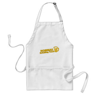 Normal Drinking Team tee shirts Adult Apron