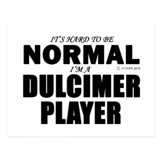 Normal Dulcimer Player Postcard