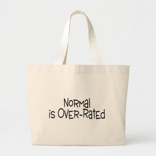 Normal está sobre clasificado bolsa tela grande