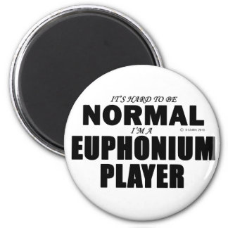 Normal Euphonium Player 2 Inch Round Magnet